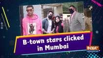 B-town stars clicked in Mumbai