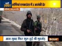 Jammu & Kashmir: Shopian encounter enters third day, 2 terrorists gunned down
