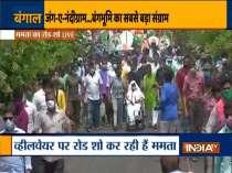 Mamata Banerjee holds roadshow in Nandigram