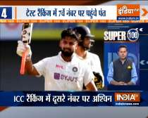 Super 100: Rishabh Pant jumps to career-best seventh spot in ICC Test Rankings
