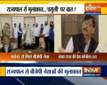 Delegation hand overs memorandum to Maha Guv Koshyari, Sanjay Raut hits out at BJP