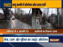 Four terrorists eliminated in encounter in Jammu and Kashmir