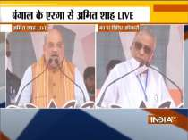 Amit Shah addresses rally in Bengal