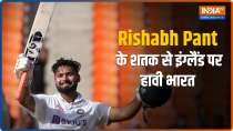 IND vs ENG, 4th Test Day 2: Rishabh Pant