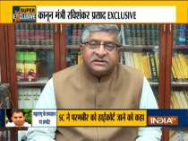 Exclusive: Union Minister Ravi Shankar Prasad slams Maha govt over sachin waze case