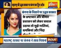 Kangana attacks Uddhav govt over Param Bir Singh