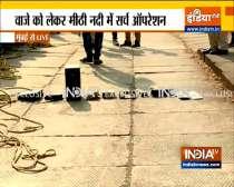 NIA takes Sachin Vaze to Mumbai