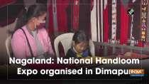 Nagaland: National Handloom Expo organised in Dimapur