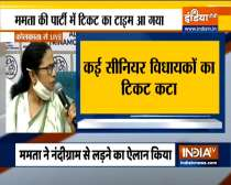 TMC released the list of 291 candidates for upcoming West Bengal Assembly polls