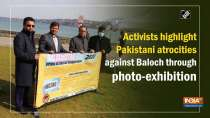 Activists highlight Pakistani atrocities against Baloch through photo-exhibition