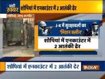 2 terrorists killed during Shopian encounter
