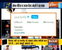 Virat Kohli becomes first Asian celebrity to cross 100 million followers on Instagram
