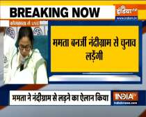 West Bengal Polls 2021: TMC releases list of 291 candidates, Mamata to contest from Nandigram