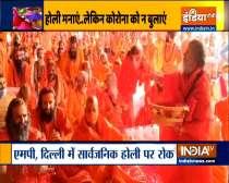 Nation celebrates Holi amid Covid-19 fears