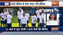 Super 100   Indian team arrives in Pune for ODI leg against England