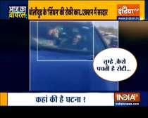 Aaj Ka Viral| Man blocks actor Ajay Devgn's car over silence on farm laws?