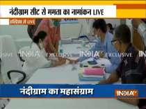 Bengal polls 2021: WB CM Mamata Banerjee files nomination from Nandigram
