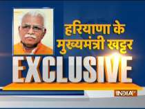 Exclusive| Haryana CM Manohar Lal Khattar talks about 75% reservation for locals in private jobs