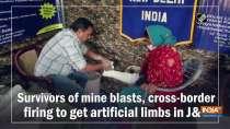 Survivors of mine blasts, cross-border firing get artificial limbs in JandK