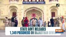 State govt releases 1,349 prisoners on occasion of Rajasthan Diwas