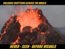 Volcanic eruptions: Never-seen-before visuals from Guatemala, Indonesia, Iceland and Italy