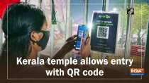 Kerala temple allows entry with QR code