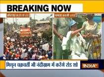 Bengal Polls 2021: Amit Shah, Mamata Banerjee hold roadshows in Nandigram