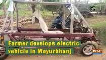 Farmer develops electric vehicle in Mayurbhanj