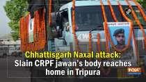 Chhattisgarh Naxal attack: Slain CRPF jawan