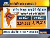 Coronavirus cases cross 3 lakh for 6th straight day