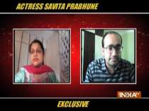 Actress Savita Prabhune opens up about COVID lockdown and shooting