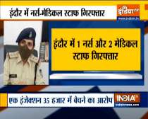 Indore: Nurse, two medical staffers held for