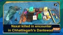 Naxal killed in encounter in Chhattisgarh