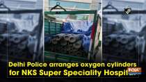 Delhi Police arranges oxygen cylinders for NKS Super Speciality Hospital