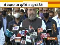 I pay tributes to security personnel who lost their lives in Naxal attack: Amit Shah