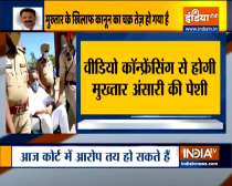 Mukhtar Ansari to appear in Lucknow court virtually today