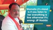 Mamata Banerjee looks everything through glasses of politics: JP Nadda over her Cooch Behar visit