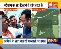 BJP leader Suvendu Adhikari slams Mamata Banerjee over attack on his convoy in Nandigram