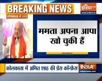 Bengal Polls 2021: Amit Shah slams Mamata Banerjee over central forces