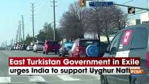 East Turkistan Government in Exile urges India to support Uyghur Nation