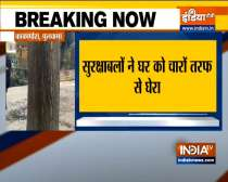 Jammu and Kashmir police, security forces carrying out operation in Pulwama, 3 terrorists trapped
