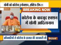 Covid positive Yogi Adityanath holds meeting with top officials in Lucknow via video conferencing