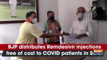 BJP distributes Remdesivir injections free of cost to COVID patients in Surat