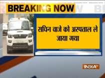 Sachin Waze taken to JJ Hospital following chest pain