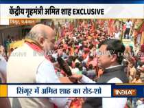 Big News Of This Hour   Amit Shah holds a roadshow in Bengal