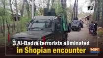 3 Al-Badre terrorists eliminated in Shopian encounter