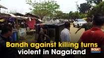 Bandh against killing turns violent in Nagaland