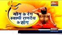 Yogasana and ayurvedic remedies from Swami Ramdev to fight summer diseases