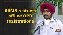 AIIMS restricts offline OPD registrations