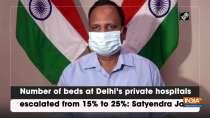 Number of beds at Delhi